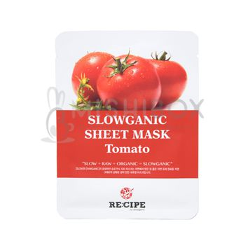 RE:CIPE Slowganic Sheet Mask (Tomato) [EXP 08.18.2018]