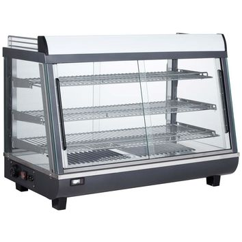 """Commercial Countertop Slanted Heated Display Case Food Warmer 36"""""""