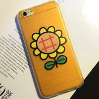 Cute Sunflower Case Cover for iphone 5s 6 6s Plus Gift 199