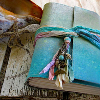 Mermaid Journal - mermaid seashells beach vacation journal by tremundo