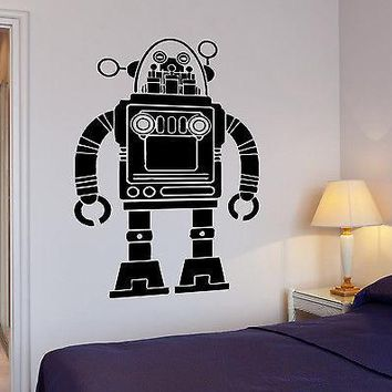 Vinyl Decal Wall Sticker Robot Transformer Pop Art Kids For Living Room Unique Gift (z2615)