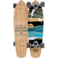 Goldcoast The Salvo Skateboard Bamboo One Size For Men 19585241401