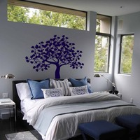 ik312 Wall Decal Sticker Decor old maple tree bedroom kids