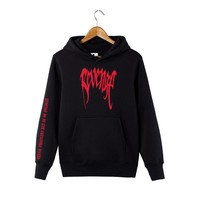 XXXtentacion Revenge Hoodie Revenge Sweatshirt Kill Memorial Rap Rip Sweatshirt XXXTentacion Trendy Top Hot Cool Rap Sweatshirt