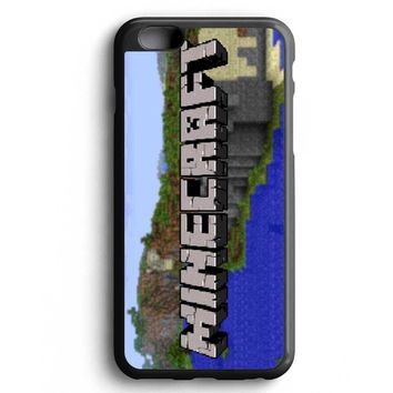 Custom Case Minecraft Inspired Creeper Logo for iPhone Case & Samsung Case