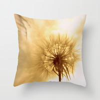 my flower Throw Pillow by Marianna Tankelevich | Society6