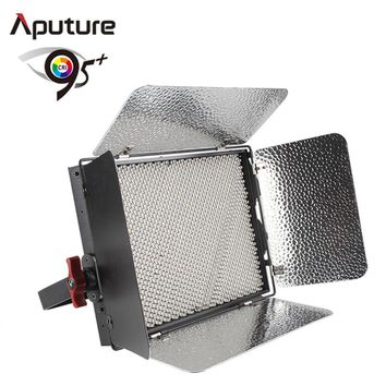 Aputure LED Video Light 1536 Lamp Beads LED Video Light with CRI95+ Bi-color 3200K-5500K LS 1C V-mount Control Box