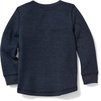 Thermal Crew-Neck Tee for Toddler Boys | Old Navy