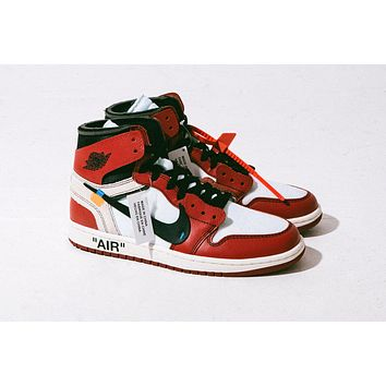 Off White x Air Jordan 1 AA3834-101