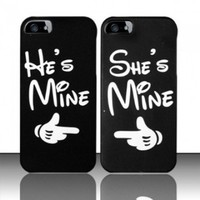 CUTE COUPLE HARD PLASTIC MATTE SNAP ON CASE FOR APPLE IPHONE 5 + FREE LCD GUARDS [In Casesity Retail Packaging]