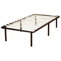 Queen size Platform Bed Frame with Wood Slats - No Box-spring Necessary