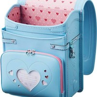 Japanese Randoseru Backpack Pastel Blue Light Sky Clarino Kawaii Japan 2013