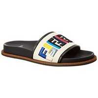 Fendi Fun Canvas Slide, 36, Beige