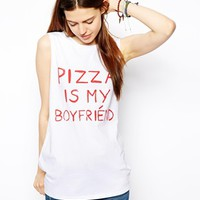 ASOS Tank With Pizza Is My Boyfriend