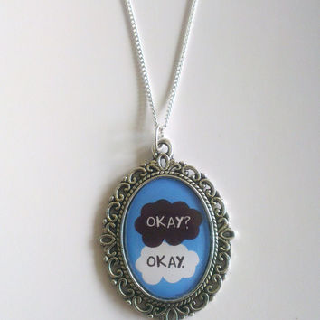 The Fault in our Stars Inspired Okay? Okay. Necklace