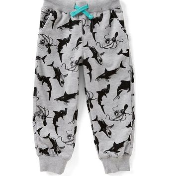 Hollywood Little Boys 2T-7 Ocean Animals Printed Jogger Pants | Dillards