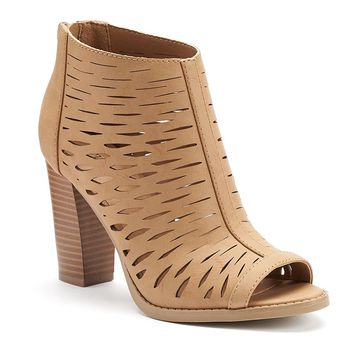 Apt. 9 Women's Cutout High Heel Dress Shooties