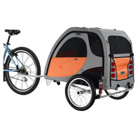 You should see this Comfort Wagon Pet Bike Trailer in Orange on Daily Fair!