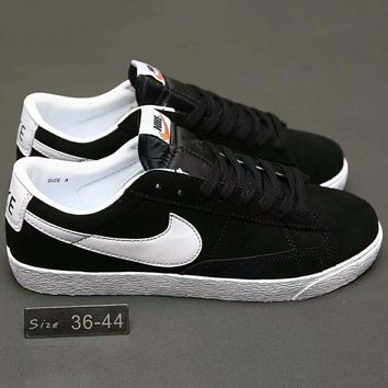 NIKE BLAZER PREMIUM RETRO Women Men Running Roshe Sport Casual Shoes Sneakers Black G-A0-HXYDXPF
