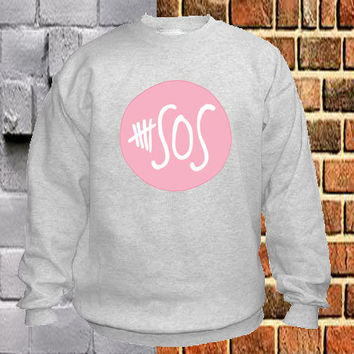 5SOS pink sweater Sweatshirt Crewneck Men or Women Unisex Size