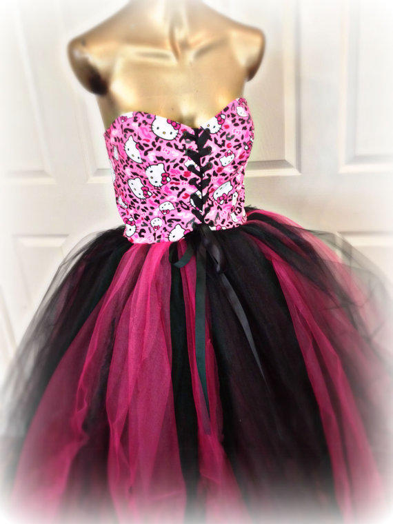 Adult Tutu Hello Kitty Tutu Dress Sweet From Brentwood
