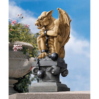 Park Avenue Collection Ball And Chain Gargoyle