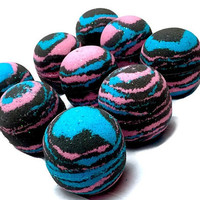 Wild Child Bath Bombs- Blacklight Party in the Tub- Lush, Fizzy Bathtime Fun!!