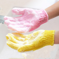 New 1PCS Skid Resistance Body Sponge Bath Massage Of Shower Bath Scrub Gloves Shower Exfoliating Gloves Shower Scrubber Cuozao
