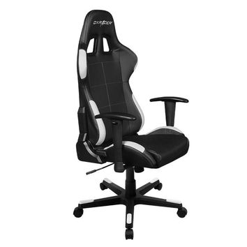 DXRacer OH/FD99/NW Black & White Formula Series Gaming Chair
