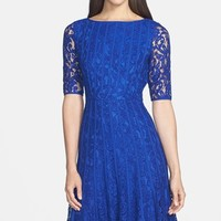 Women's Adrianna Papell Lace Fit & Flare Dress,