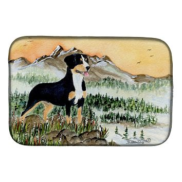 Entlebucher Mountain Dog Dish Drying Mat SS8119DDM