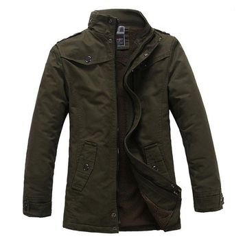 The Woods Coat Olive