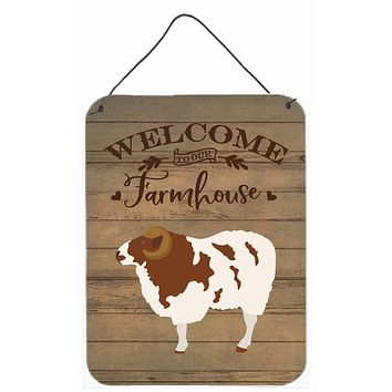 Jacob Sheep Welcome Wall or Door Hanging Prints CK6919DS1216