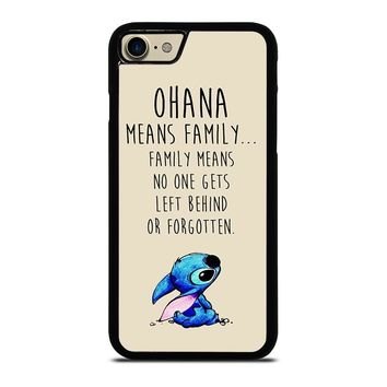 STITCH LILLO OHANA FAMILY QUOTES Case for iPhone iPod Samsung Galaxy