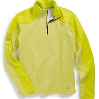 Girl's Under Armour 'Rally' ColdGear Infrared Quarter Zip Pullover