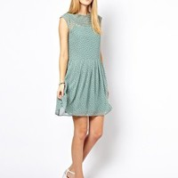 NW3 Loops Dress with Yoke Detail at asos.com