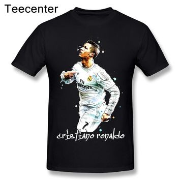Awesome Man Cristiano Ronaldo Real Madrid T Shirt World Cup Graphic Male MAKEBAOCHI Brand Short-sleeved T-shirt Camiseta