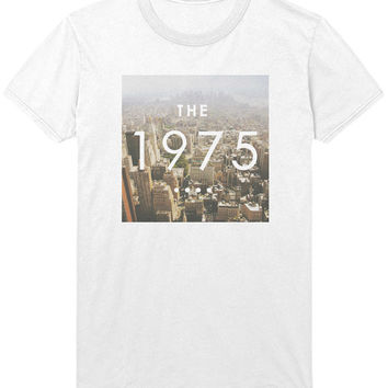 The 1975 Skyline Logo T-Shirt - 1975 band Indie Rock Music Shirt / Sweatshirt - Mens / Womens