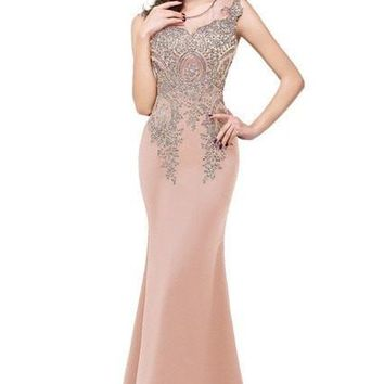 Actual Photo Luxury Black And Burgundy Mermaid Gold Applique Evening Dresses Beaded Crystal  Formal Prom Gown robe de soiree