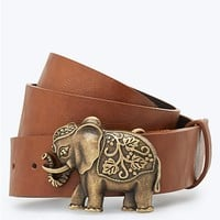 Festival Elephant Buckle Belt