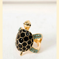 Turtle Bay Ring                    - Francesca's Collections