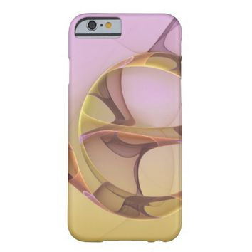 Abstract Motions Modern Fractal Art Barely There iPhone 6 Case
