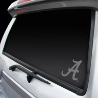 Alabama Crimson Tide Chrome Window Graphic Decal