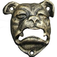 Cast Iron Bulldog Bottle Opener