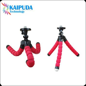 Flexible Octopus Digital Camera Tripod Holder, Universal Gopro Mount Bracket Stand Display Support For Cell Phone Accessories