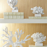 Faux Coral Sculptures