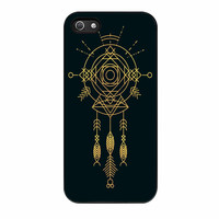 Dream Catcher Cosmic Gold iPhone 5 Case