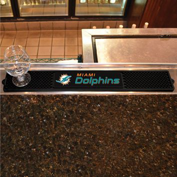 Miami Dolphins NFL Drink Mat New! - Man Cave, Bar, Game Room