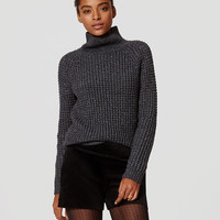 Shimmer Stitch Sweater | LOFT