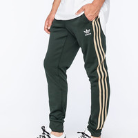 Adidas Originals Superstar Mens Track Pants Forest  In Sizes